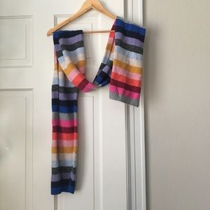 Gap colorful striped scarf